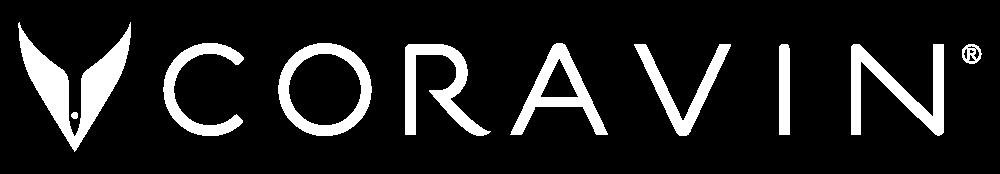 Coravin white logo