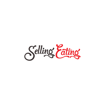 Selling Eating Color Logo